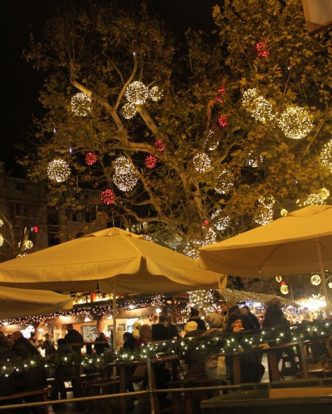 Christmas fair in Budapest