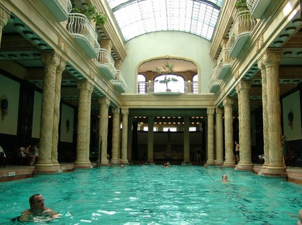 Gellert bath in budapest - Hen party houses with swimming pool ...