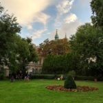 The Károlyi garden in the heart of Budapest