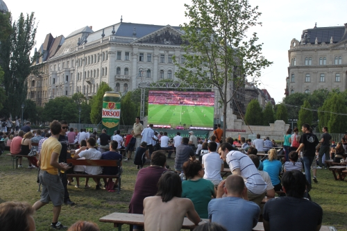 Euro 2012 at Liberty Square