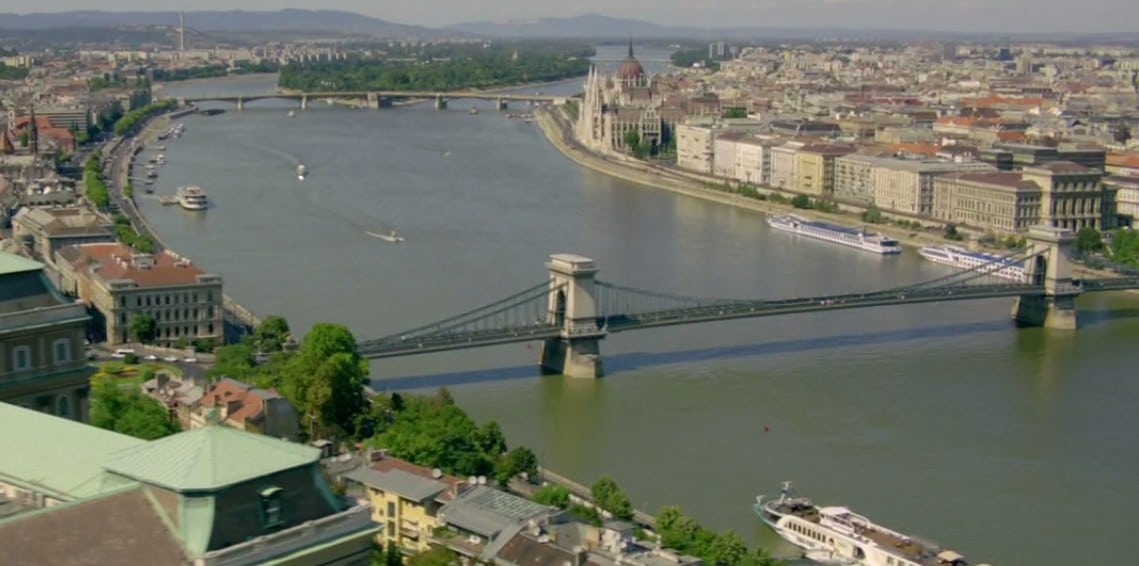 One more Budapest panorama clip from the episode