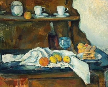 Paul Cezanne in Museum of Fine Arts