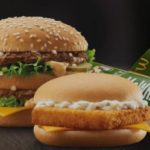 What is the price of a Big Mac Menu and a Whopper Menu in Budapest as of 2018?