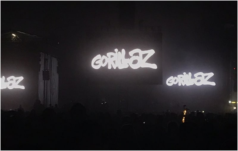 Gorillaz at Sziget 2018