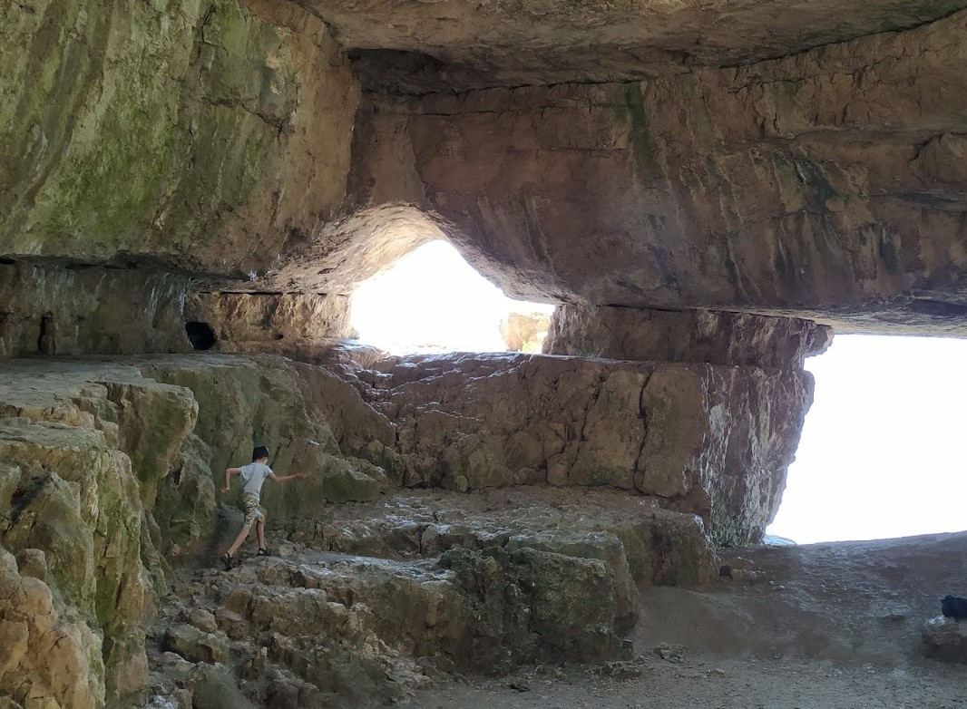 From the Szelim caves in Tatabanya