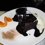 Brownie at Cream Cafe