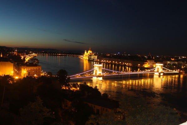 Budapest windows background