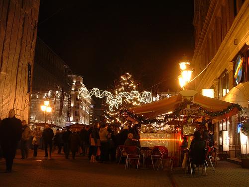 Budapest Christmas market 2011
