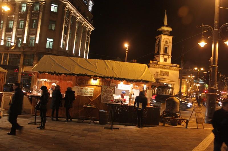 Christmas market at Kalvin ter