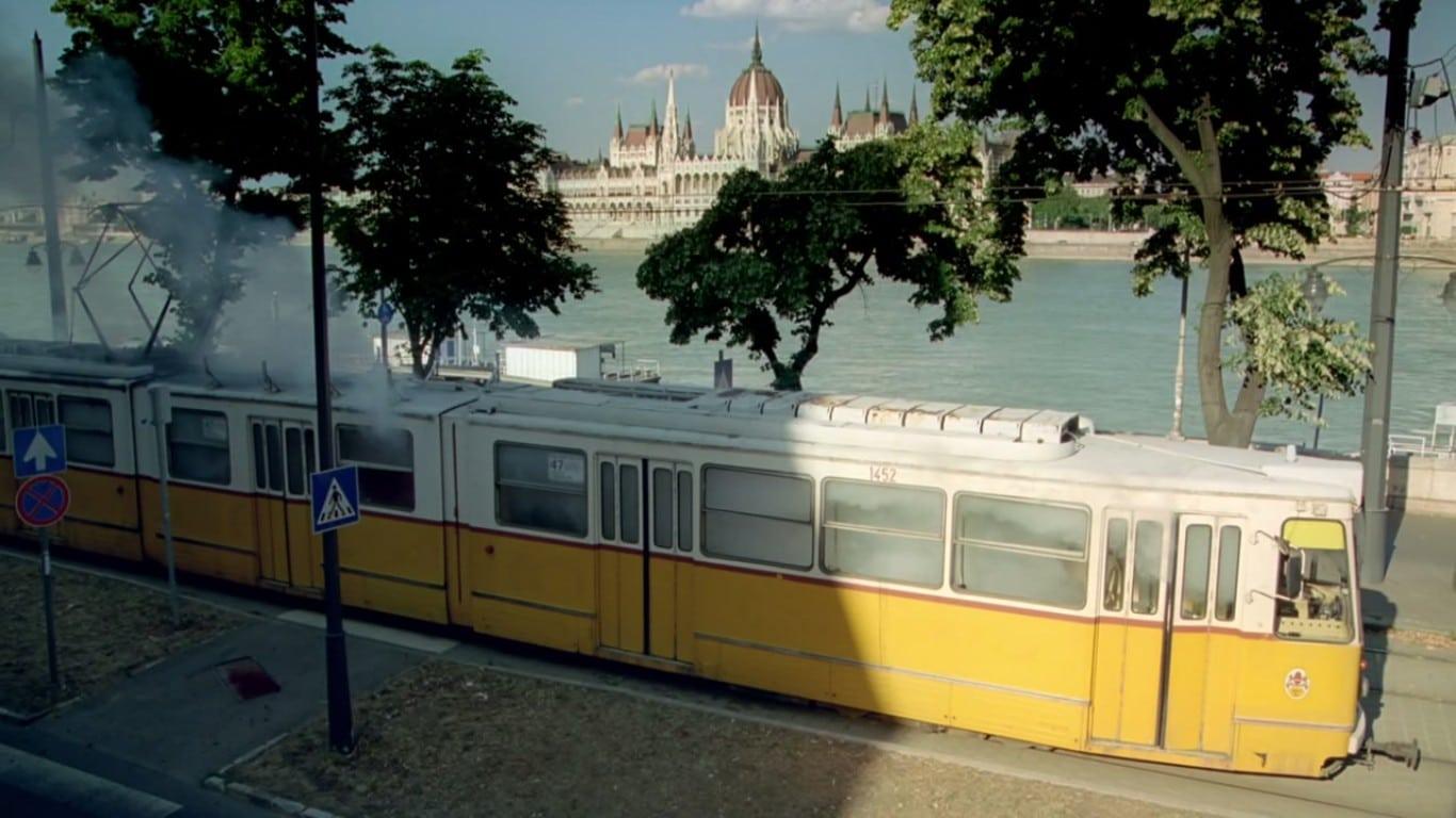Explosion in tram