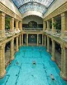 Main hall of the Gellért Bath
