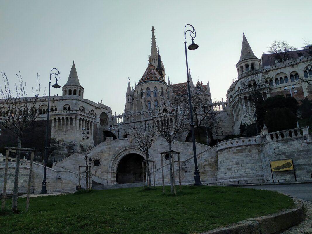 The Fishermen's bastion in Budapest