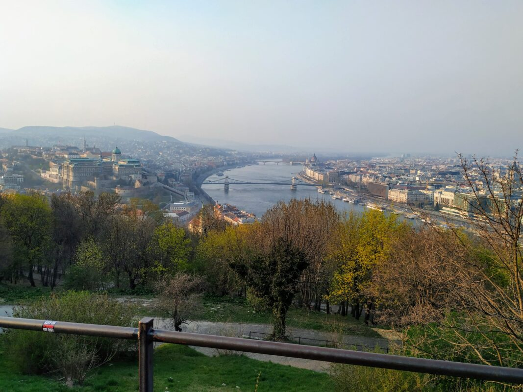 The view is still amazing at the Gellert Hill