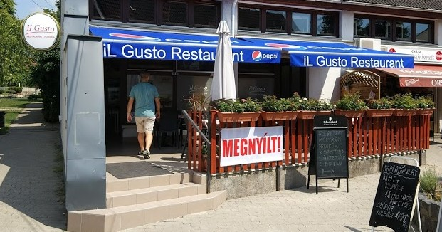 The front of Il Gusto in Diosd