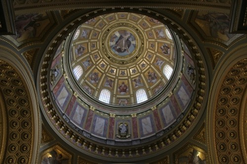 Easter services in Saint Stephens Basilica