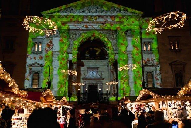 Weihnachtsmärkte in Budapest im Jahr 2015