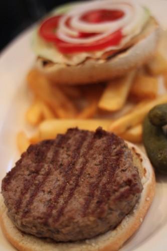 Hamburger in La Pampa Budapest