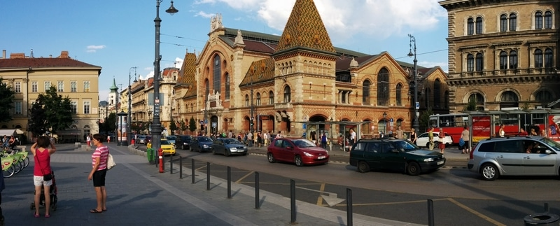 The Market Hall and the inner ring