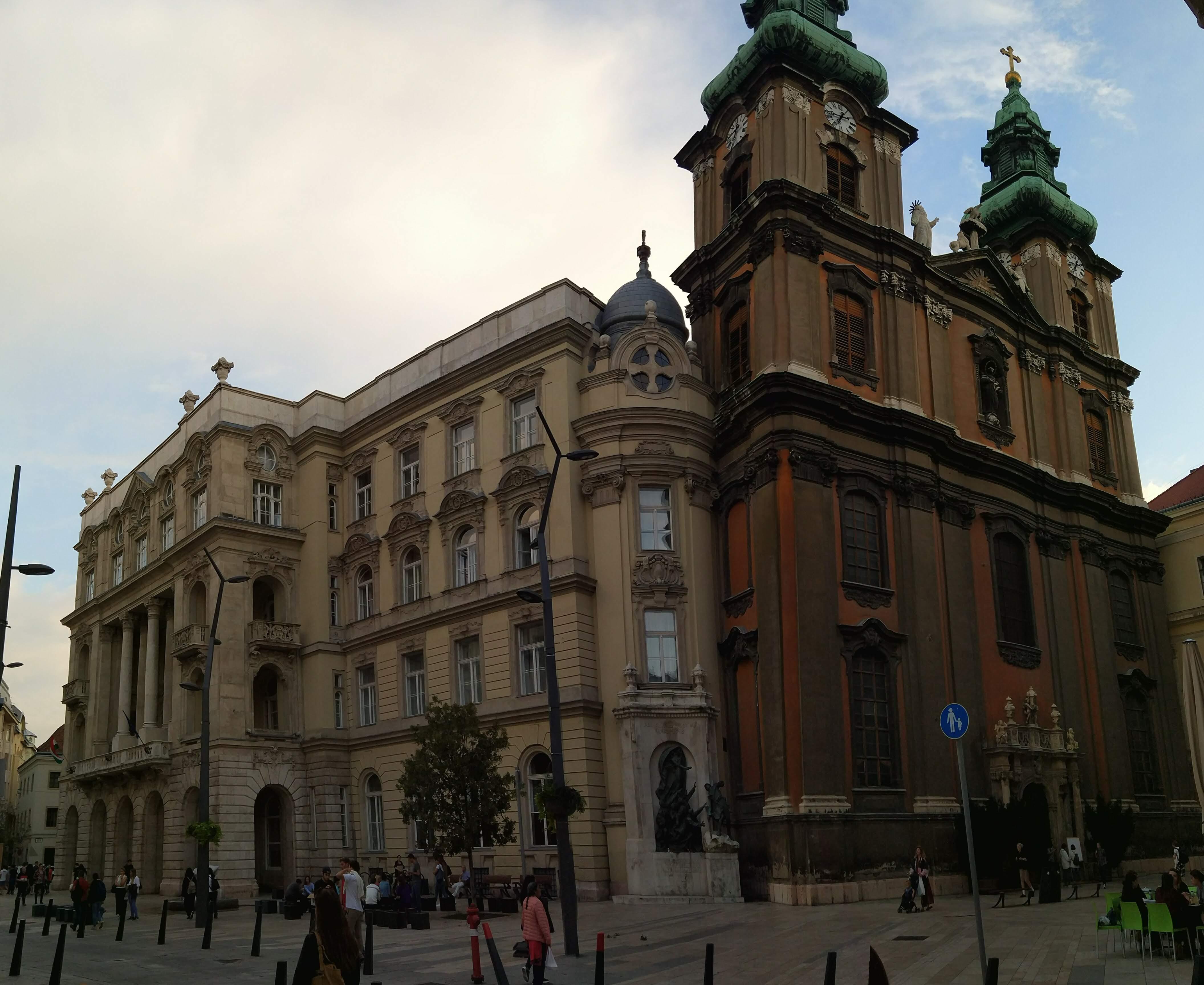 Egyetem tér in Budapest