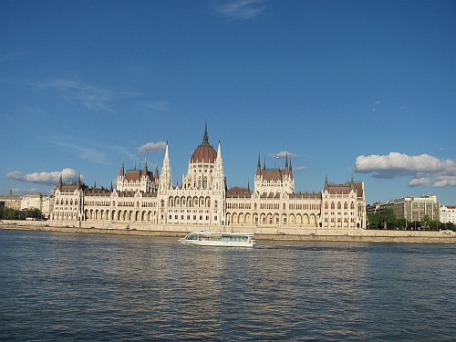 Hungarian Parliament in real life