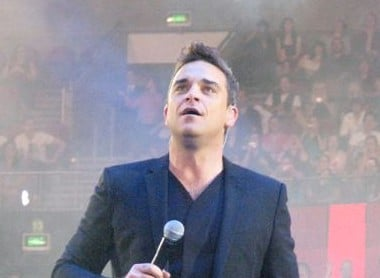 Robbie Williams concert in Budapest 2017