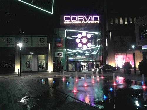Corvin shoppingcenter in Budapest