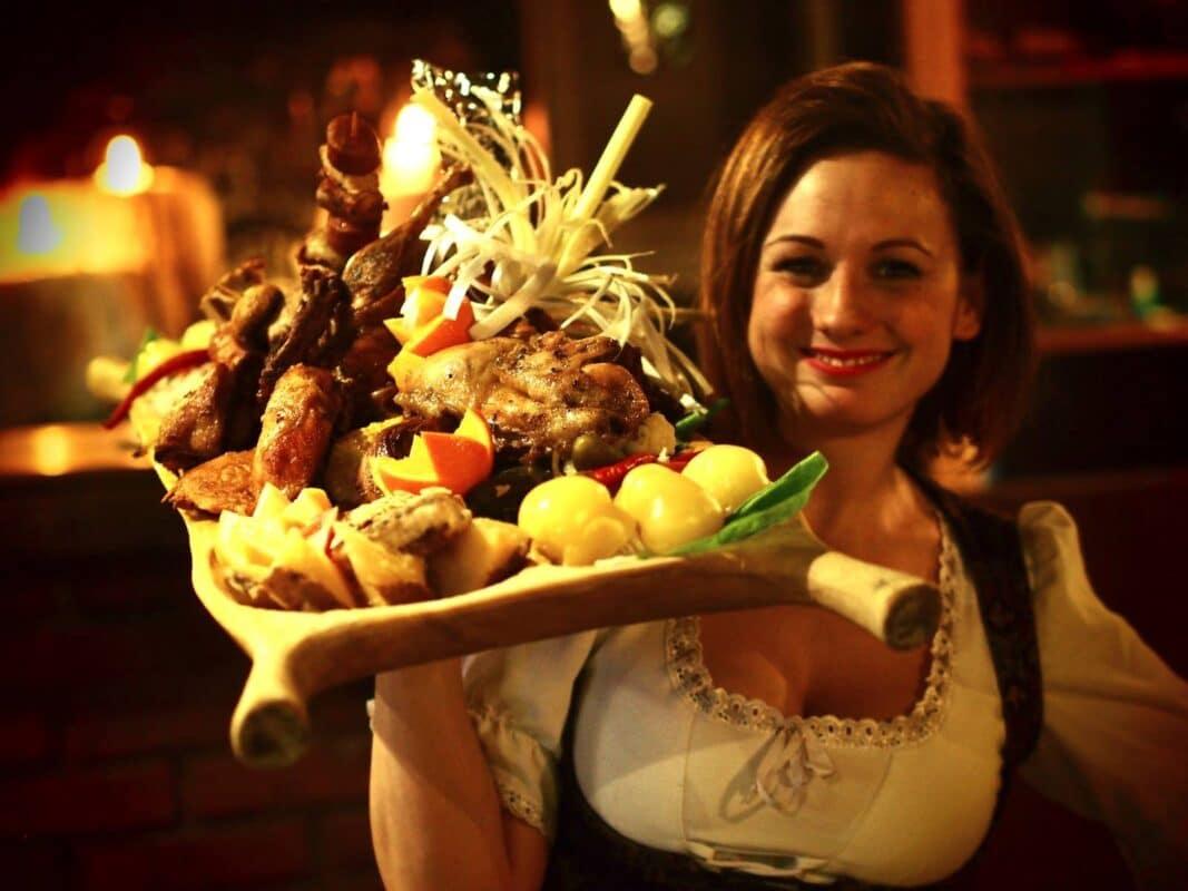 Medieval dinner in Sir Lancelot Budapest