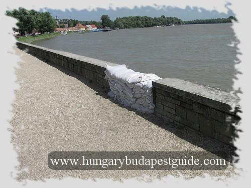 Szentendre after the flood