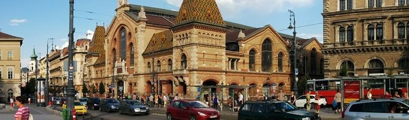 You cannot see it from the tram, but it is there - The Great Market Hall.