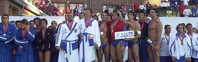 Water Polo in Budapest