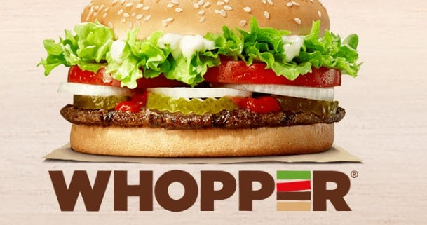 Are you hungry for a Whopper menu in Burger King in Budapest?