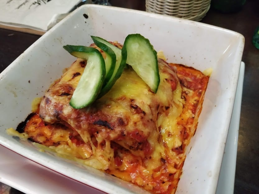 Lasagne in Don Vito Visegrad