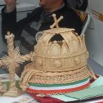 Hungary Crown in marcipan