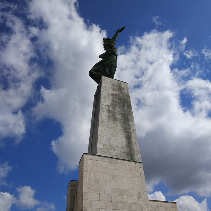 The Liberty Statue at the Gellért hill