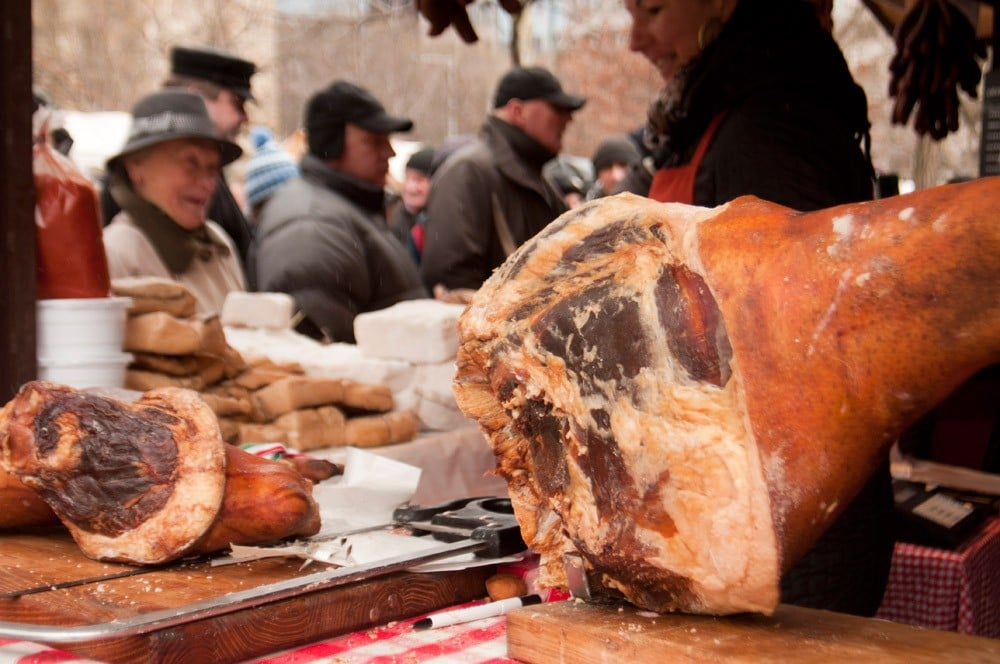 Mangalica festival in Budapest