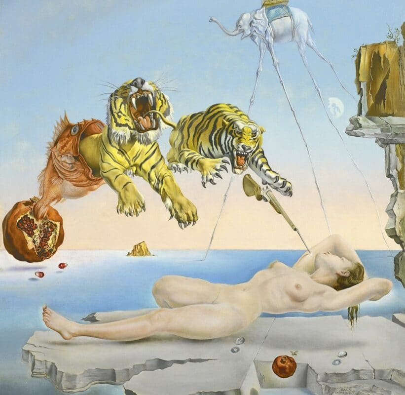 Surrealist creation from Salvadore Dali