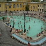 Széchenyi Thermal Bath - outdoor pool