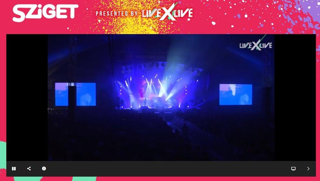 Watch Sziget Live online