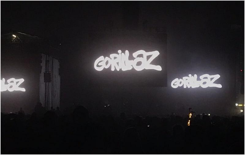 Gorillaz at Sziget 2018