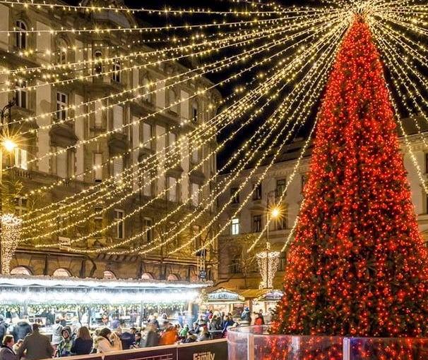 Die Weihnachtsmärkte in Budapest im Jahr 2019