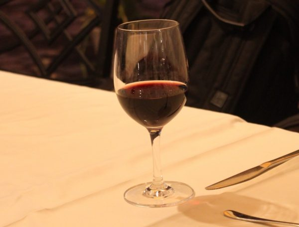 wine dinner in budapest